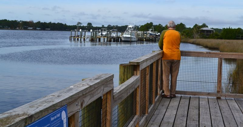 12st Street Pier & Boardwalk - fishing dock