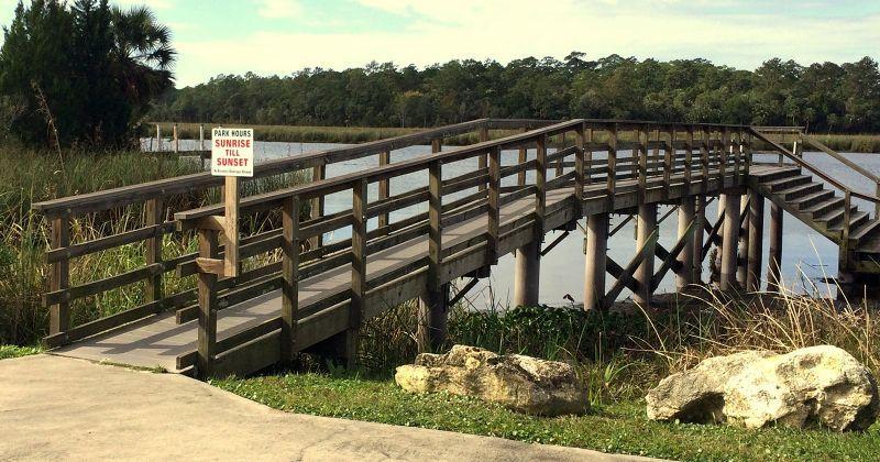 dock at the Wakulla River Park