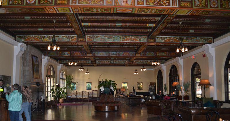 Edward Ball Wakulla Springs Lodge Lobby