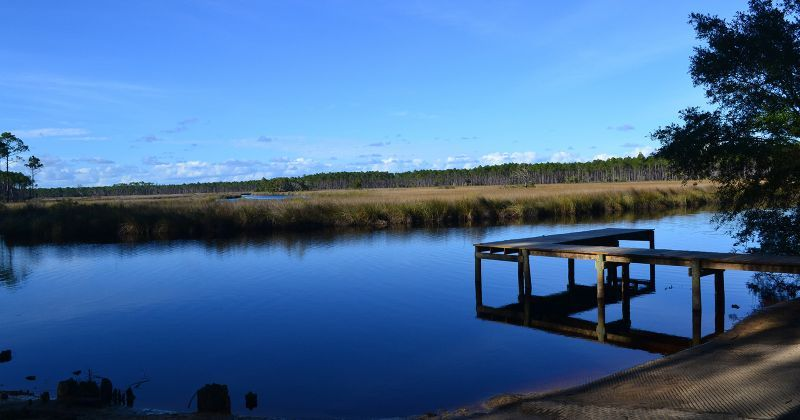 Cash Creek Recreation Area - dock