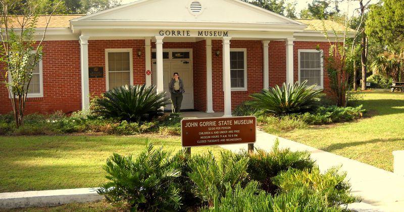 John Gorrie Museum State Park - entrance