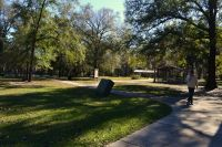 Silver Lake Recreation Area - paved walkway to lake and picnic pavillions