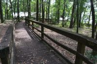 Luther Hall Landing - boardwalk to Lake Talquin