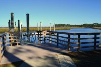 Ochlockonee River State Park - main dock by swimming area