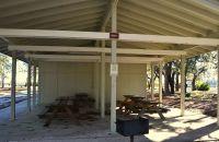 Ochlockonee River State Park - open picnic pavilion