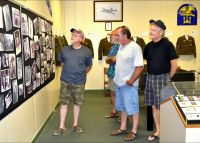Camp Gordon Johnston - museum exhibits