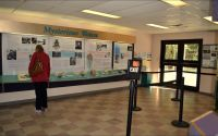 """Wakulla Springs Interpretive center for boat tour, """"Mysterious Waters"""""""