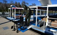 Wakulla Springs Interpretive Boat Tour Cruises are Wheelchair accessible