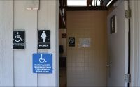 Wakulla Springs State Park - springs restroom