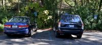 Accessible parking at Tallahassee Museum