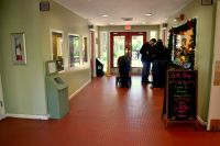 Entrance lobby at Tallahassee Museum and Museum Store