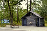 Trout Pond Recreation Area and GF&A Trail  restroom