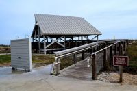 Dr. Julian G. Bruce St. George Island State Park - picnic pavillion overlooking the Gulf of Mexico