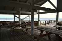 Dr. Julian G. Bruce St. George Island State Park - view from pavillion