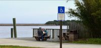 Apalachicola Riverfront Park - waterfront park picnic spot on river